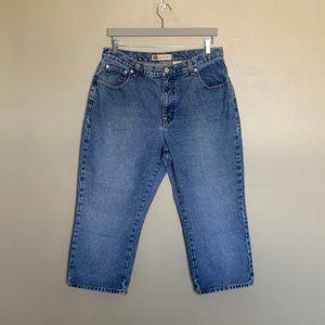 Faded Glory light wash high rise jeans sz 18